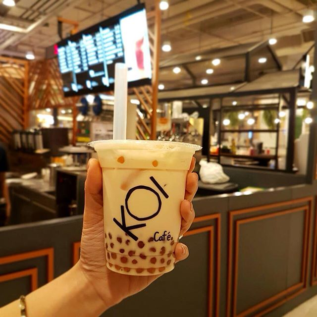 Top bubble tea franchise koi cafe is finally opening its for Koi 1 utama
