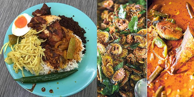 Top 8 Places To Get Nasi Kandar In Petaling Jaya & Kuala Lumpur