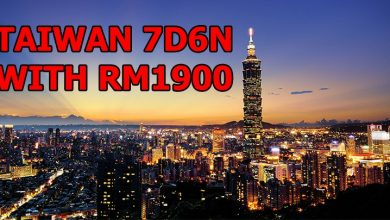 Photo of How Can Malaysians Travel To Taiwan For 7 Days With Only RM1900 In 2018