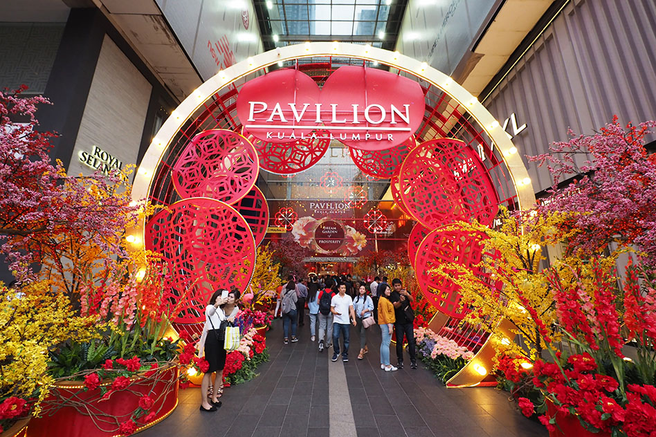 11 Chinese New Year Mall Decorations In Malaysia 2018