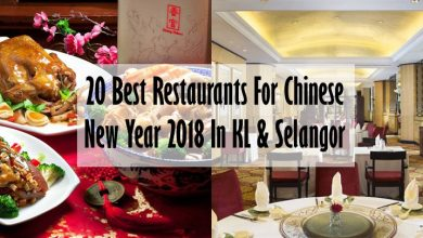 Photo of 20 Best Restaurants For Chinese New Year 2018 Reunion In KL & Selangor