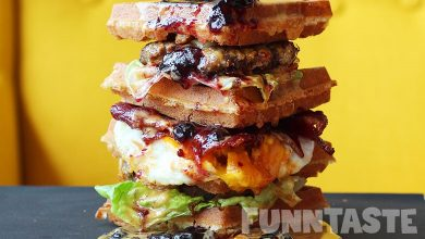Photo of This Café In Damansara Makes The Craziest Waffle Burgers Ever