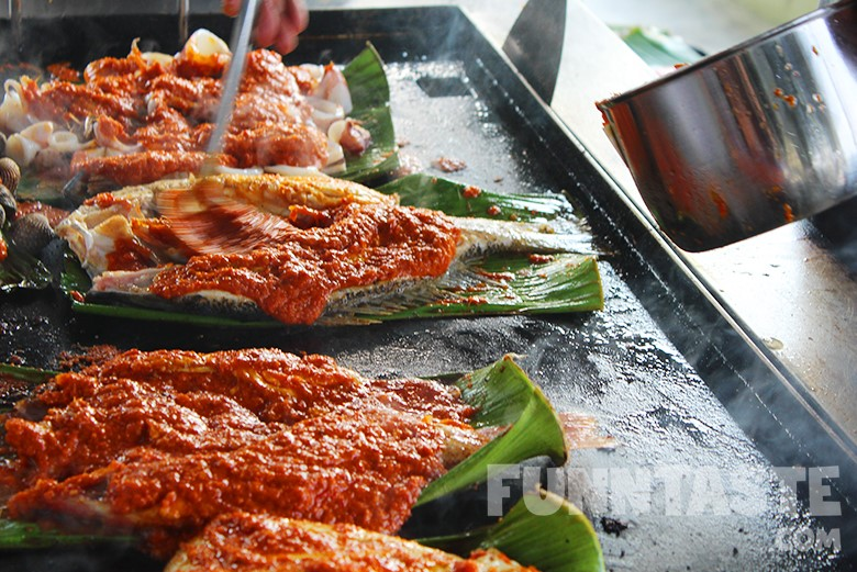 Food Review: Grilled Fish & Seafood @ Ikan Bakar Terangkat