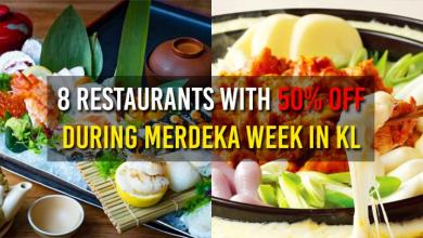 Photo of You Can Enjoy 50% Discount At 8 Of These Restaurants In KL During Merdeka Week