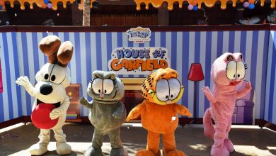 Photo of The Cutest Orange Cat Garfield & Friends Are Coming To Lost World Of Tambun