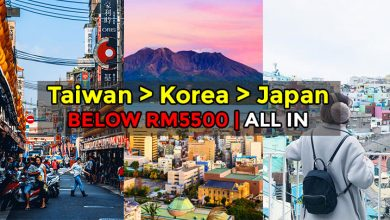 Photo of Here's How You Can Travel To Taiwan, Japan + Korea With This Cruise For Less Than RM5,500