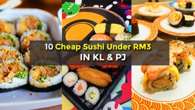 Photo of 10 Cheap Japanese Sushi Places in KL & PJ (Under RM3)