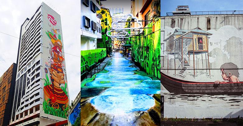 Top 10 Instagram Worthy Murals Street Art In Kl
