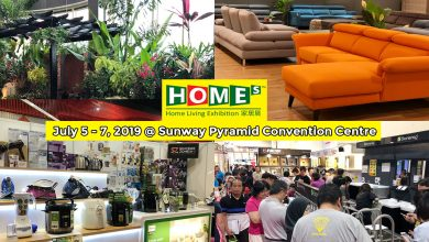 Photo of 3 Reasons Why You Should Visit HOMEs – Home Living Exhibition Expo This July