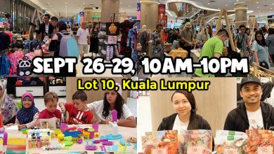 Photo of Have Fun While Shopping In This 4-Day Circus Theme Carnival Bazaar At Lot 10
