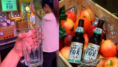 Photo of Get A Giant Glass — Apple Fox Cider Is Having A Bring Your Own Glass Day