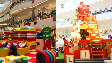 Photo of There Is A Giant Christmas Tree Made Out of Blocks in Quill City Mall Kuala Lumpur
