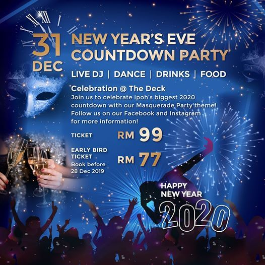 20 Places To Celebrate New Year S Eve All Around Malaysia For 2020