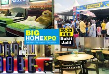 Photo of BIG HOME Expo Is Back With More Brands And Free Gifts + Cash Vouchers This 20- 23 FEB 2020