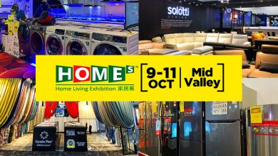 Photo of 10 Reasons to visit HOMEs – Home Living Exhibition this 9-11 Oct @ MidValley