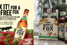 Photo of If 2020 Has You Down, Let Apple Fox Cider Cheer You Up With 1 Free Cider this Apple Day!